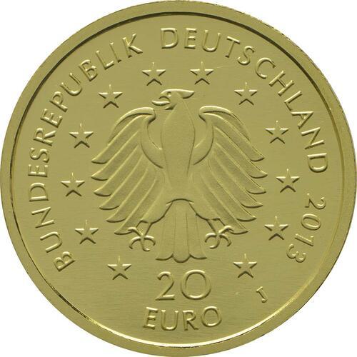 Rückseite :Deutschland : 20 Euro Kiefer  2013 Stgl.