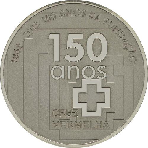 Vorderseite:Portugal : 2,5 Euro 150 Jahre Rotes Kreuz  2013 PP