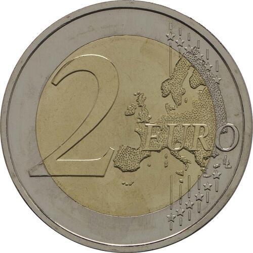 Vorderseite:Portugal : 2 Euro Torre dos Clérigos  2013 bfr