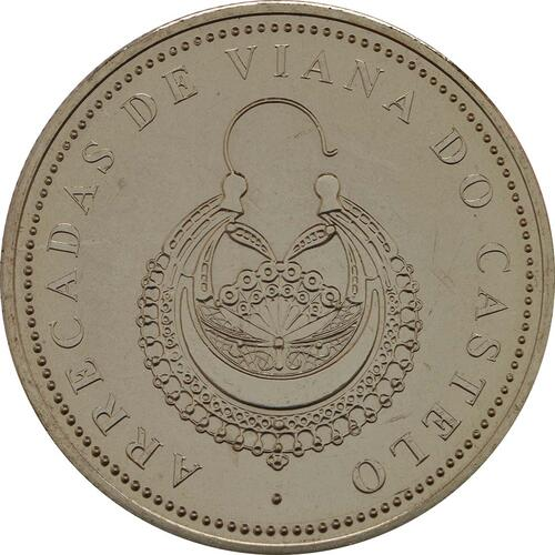 Vorderseite:Portugal : 2,5 Euro Die Ohrringe Viana do Castelos  2013 Stgl.