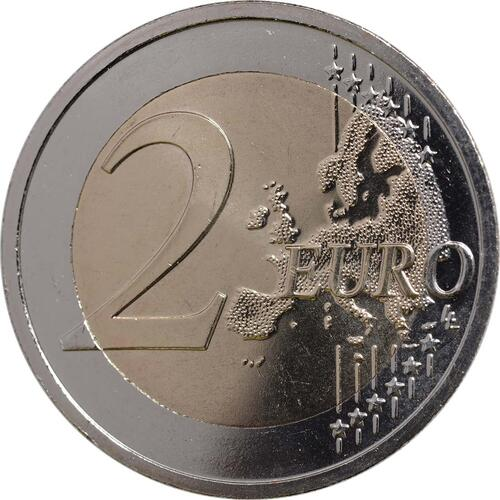 Vorderseite :Slowenien : 2 Euro Höhlen von Postojna  2013 bfr