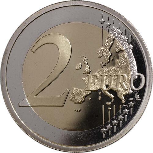 Vorderseite:Slowenien : 2 Euro Höhlen von Postojna  2013 PP