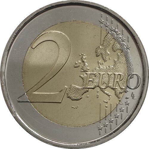 Vorderseite:Spanien : 2 Euro El Escorial  2013 bfr