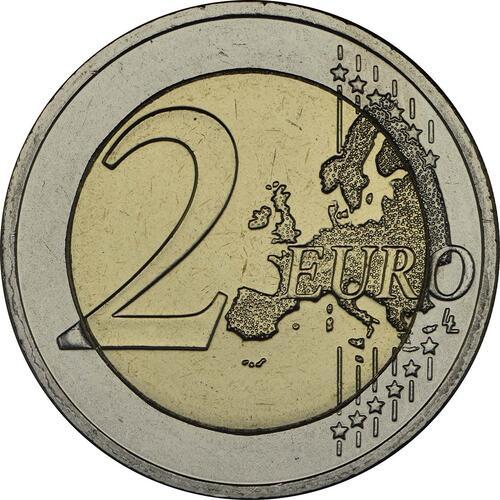 Vorderseite:Griechenland : 2 Euro 100 Jahre Vereinigung Kreta mit Griechenland  2013 bfr