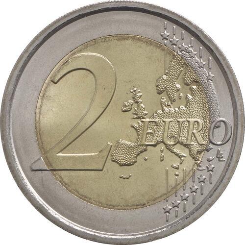 Vorderseite :Italien : 2 Euro Guiseppe Verdi  2013 bfr