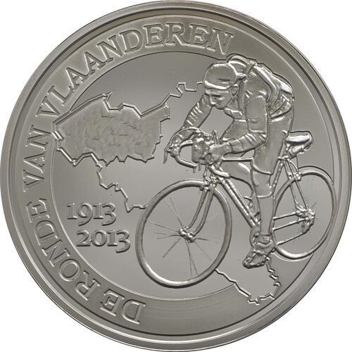 Vorderseite:Belgien : 10 Euro 100 Jahre Flandern-Rundfahrt  2013 PP