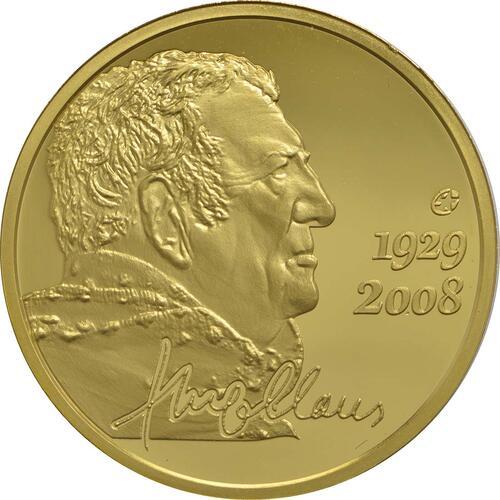 Vorderseite:Belgien : 50 Euro Hugo Claus  2013 PP