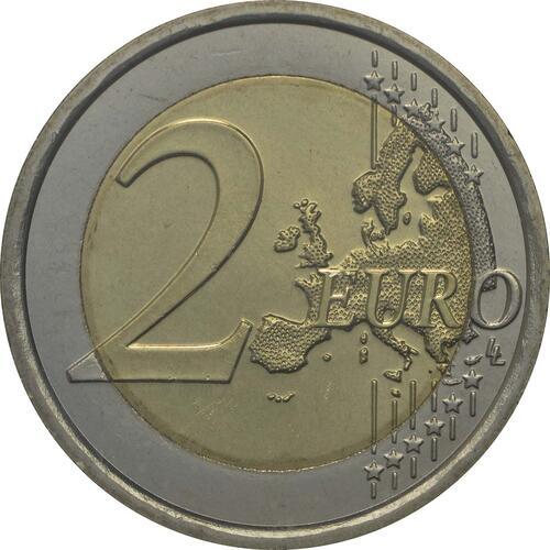Vorderseite:San Marino : 2 Euro Pinturicchio  2013 Stgl.