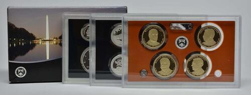 Lieferumfang:USA : 6,91 Dollar Jahressatz 13 incl. 5x25 Cent  2013 PP