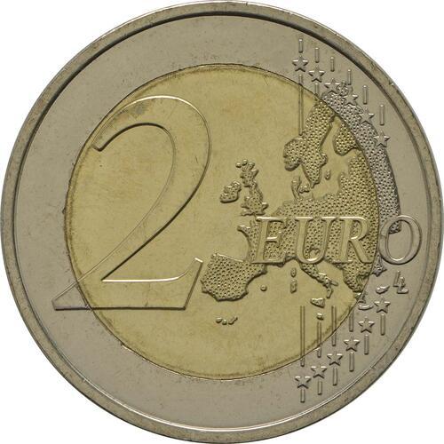 Vorderseite:Monaco : 2 Euro Uno  2013 bfr