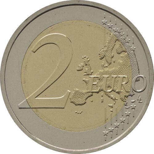 Vorderseite:Slowakei : 2 Euro Cyrill und Method  2013 bfr