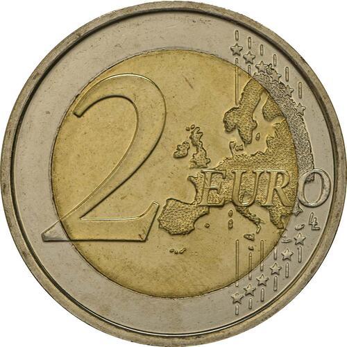 Vorderseite :Belgien : 2 Euro Meteorologisches Institut  2013 bfr