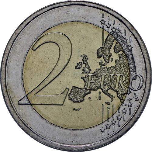 Vorderseite:Malta : 2 Euro Selbstverwaltung  2013 bfr