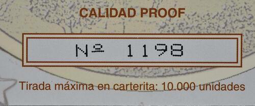 Zertifikat :Spanien : 2 Euro El Escorial  2013 PP