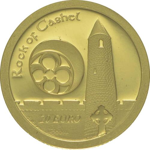 Vorderseite:Irland : 20 Euro The Rock of Cashel  2013 PP