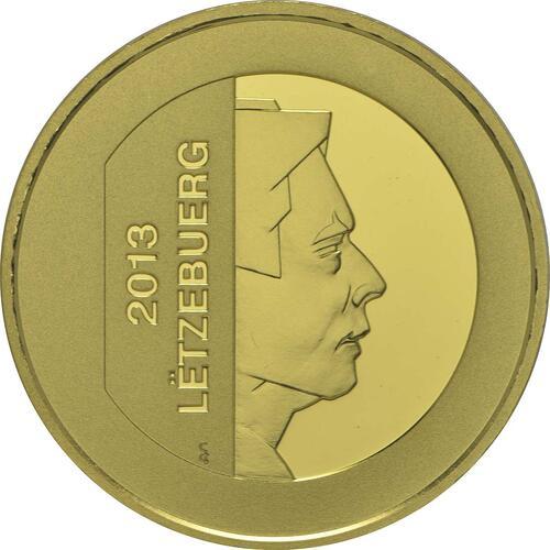 Vorderseite:Luxemburg : 15 Euro 15 Jahre Zentralbank Luxemburg  2013 PP