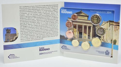 Lieferumfang:San Marino : 3,88 Euro KMS San Marino  2014 Stgl.