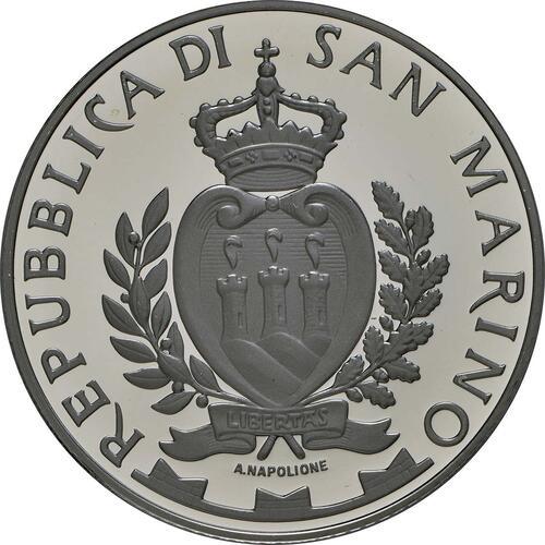 Rückseite:San Marino : 5 Euro Ayrton Senna  2014 PP