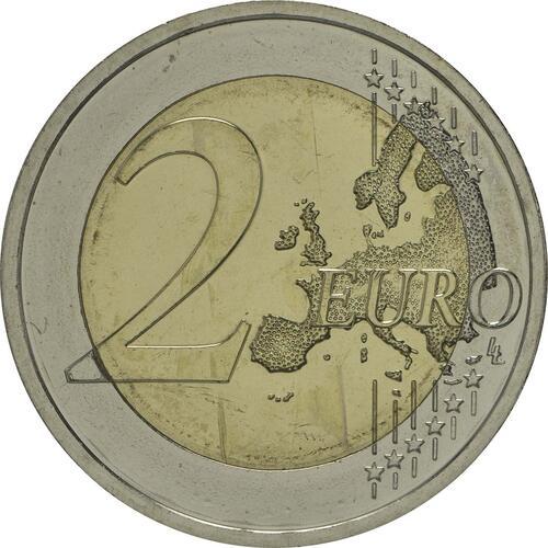 Vorderseite :Deutschland : 2 Euro Niedersachsen - Michaeliskirche Hildesheim Buchstabe unserer Wahl  2014 bfr