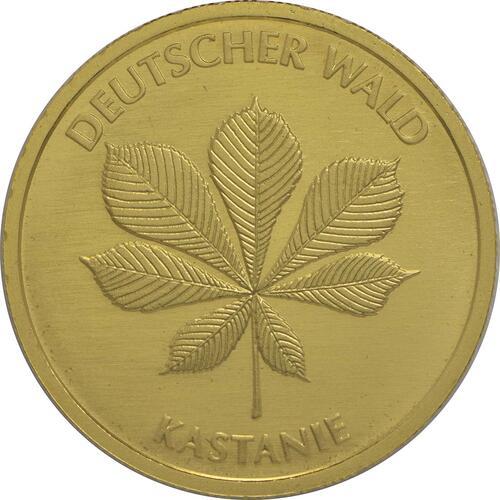 Vorderseite:Deutschland : 20 Euro Kastanie Buchstabe unserer Wahl  2014 Stgl.