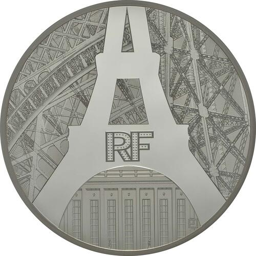 Vorderseite:Frankreich : 50 Euro Ufer der Seine  2014 PP
