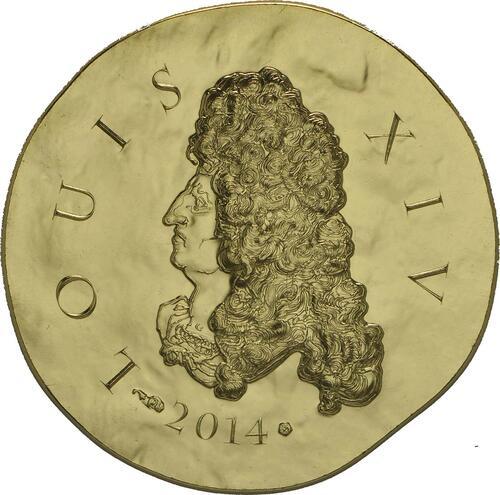 Vorderseite:Frankreich : 50 Euro Louis XIV.  2014 Stgl.