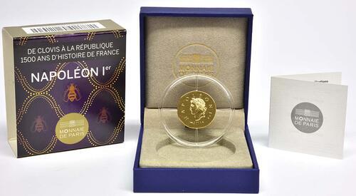 Lieferumfang:Frankreich : 50 Euro Napoleon I.  2014 Stgl.