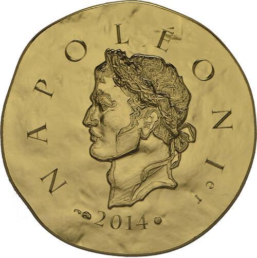 Vorderseite:Frankreich : 50 Euro Napoleon I.  2014 Stgl.