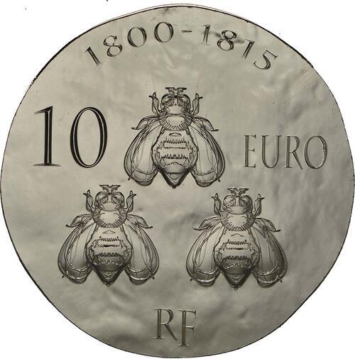 Rückseite:Frankreich : 10 Euro Napoleon I.  2014 Stgl.
