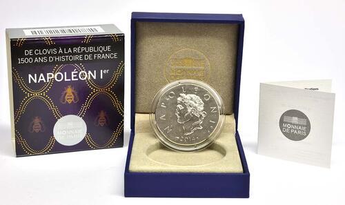 Lieferumfang:Frankreich : 10 Euro Napoleon I.  2014 Stgl.