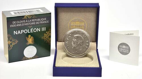 Lieferumfang:Frankreich : 10 Euro Napoleon III.  2014 Stgl.
