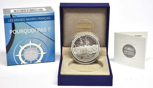 Lieferumfang:Frankreich : 10 Euro Pourquoi Pas  2014 PP