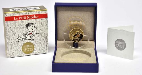 Lieferumfang:Frankreich : 50 Euro Le Petit Nicolas  2014 PP
