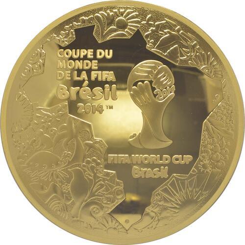 Vorderseite:Frankreich : 200 Euro Fußball WM  2014 PP