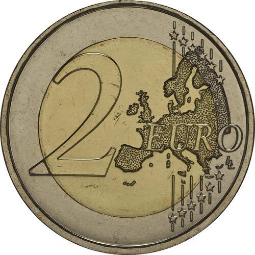 Vorderseite:Frankreich : 2 Euro D-Day  2014 bfr