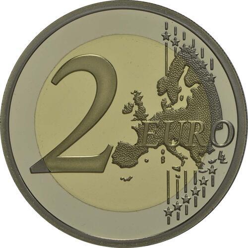 Vorderseite:Frankreich : 2 Euro D-Day  2014 PP