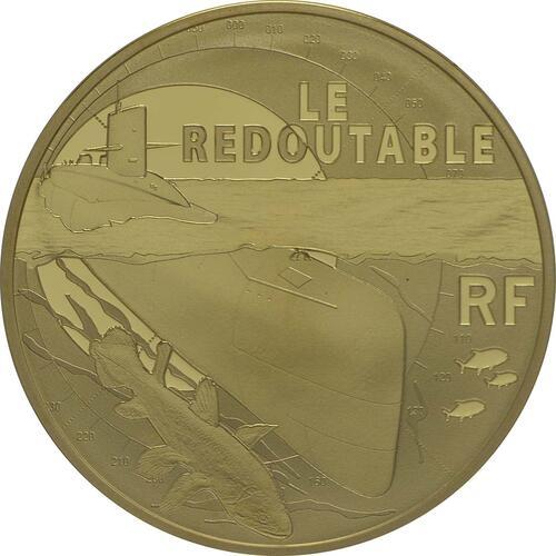 Vorderseite:Frankreich : 50 Euro Redoutable  2014 PP
