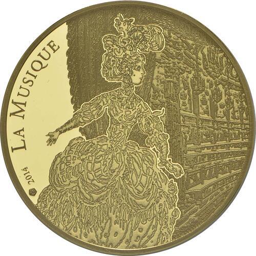 Vorderseite:Frankreich : 50 Euro Jean Baptiste Rameau  2014 PP