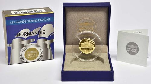 Lieferumfang:Frankreich : 50 Euro Le Normandie  2014 PP