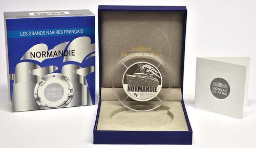 Lieferumfang:Frankreich : 50 Euro Le Normandie  2014 PP