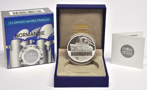 Lieferumfang:Frankreich : 10 Euro Le Normandie  2014 PP