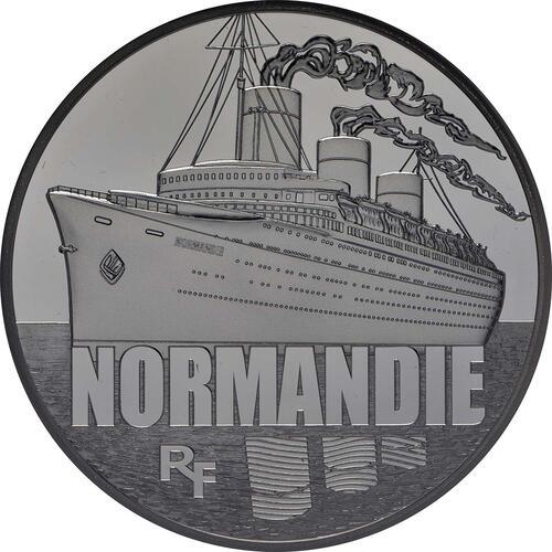 Vorderseite:Frankreich : 10 Euro Le Normandie  2014 PP