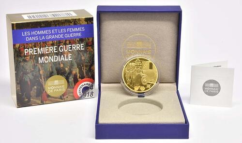 Lieferumfang:Frankreich : 200 Euro Frankreich im 1. Weltkrieg  2014 PP