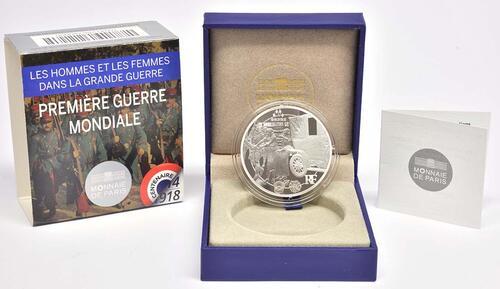 Lieferumfang:Frankreich : 10 Euro Frankreich im 1. Weltkrieg  2014 PP