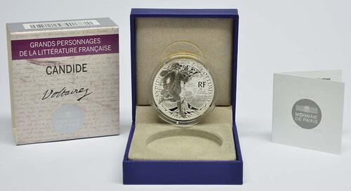 Lieferumfang:Frankreich : 10 Euro Candide  2014 PP