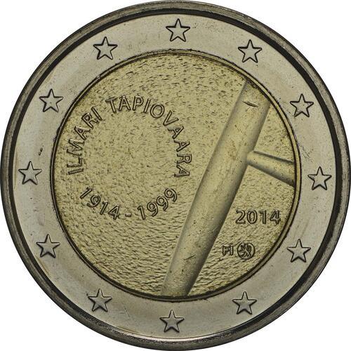 Rückseite:Finnland : 2 Euro Tapiovaara  2014 bfr