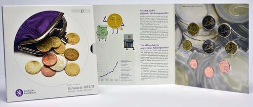 Lieferumfang:Finnland : 5,88 Euro KMS Finnland II. Die Euromünzen  2014 Stgl.