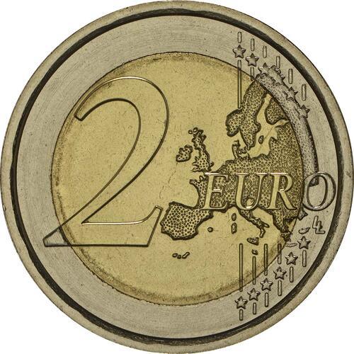 Vorderseite:Italien : 2 Euro Carabinieri  2014 bfr