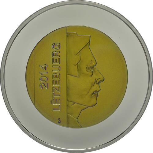 Vorderseite:Luxemburg : 5 Euro Burg Larochette  2014 PP