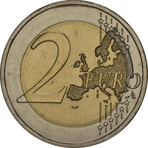 Vorderseite:Portugal : 2 Euro Nelkenrevolution  2014 bfr